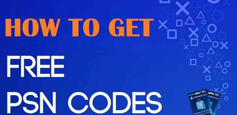 free PSN codes.