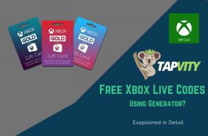 Free Xbox Live Codes 2020