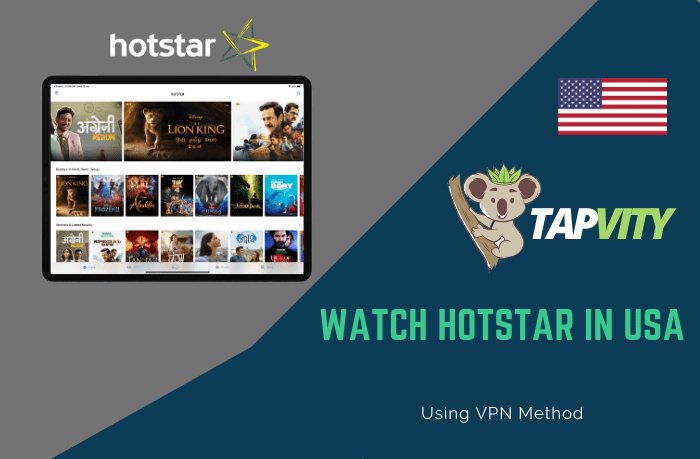 Watch Hotstar in USA