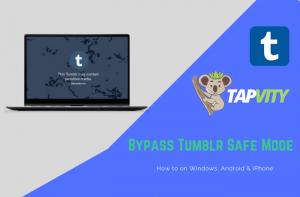 Bypass Tumblr Safe Mode