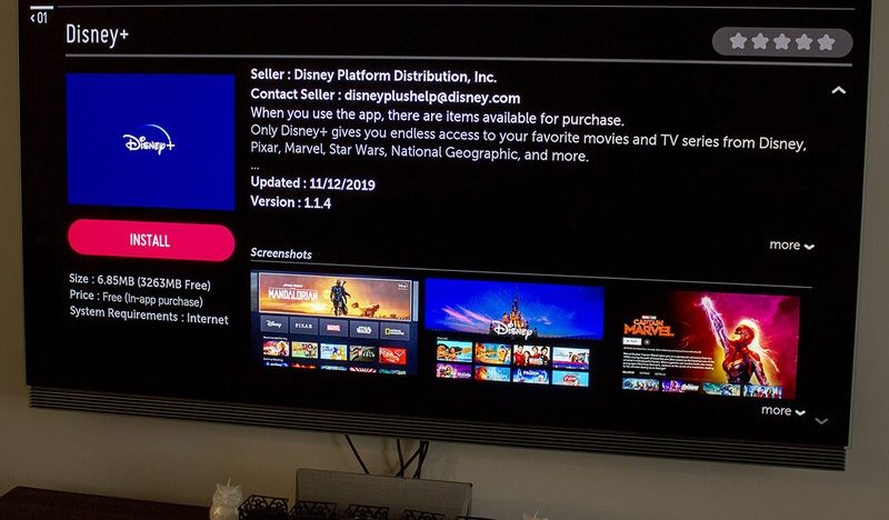 Install Disney plus on samsung tv
