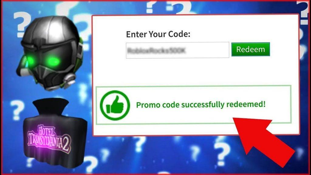 Roblox promo code redeem