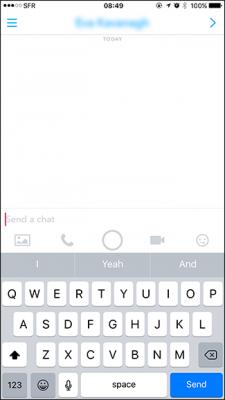 Snapchat Message