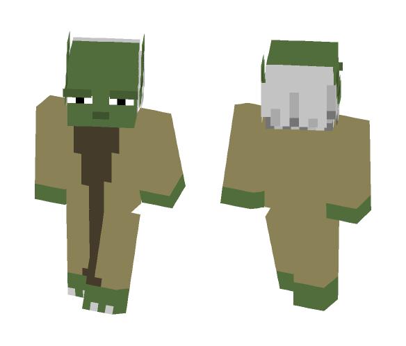 Yoda Minecraft Skin