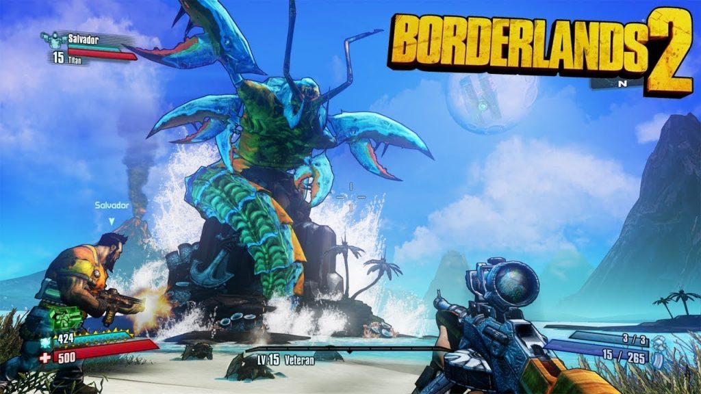 borderlands 2 gibbed codes
