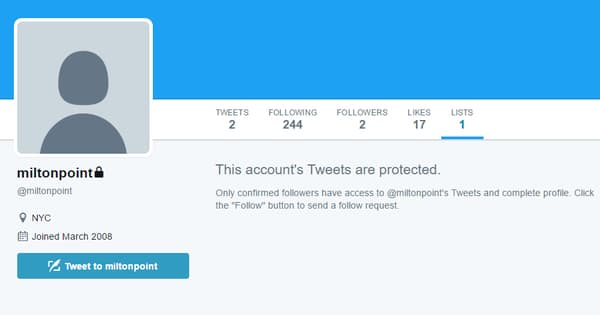 how to view protected tweets