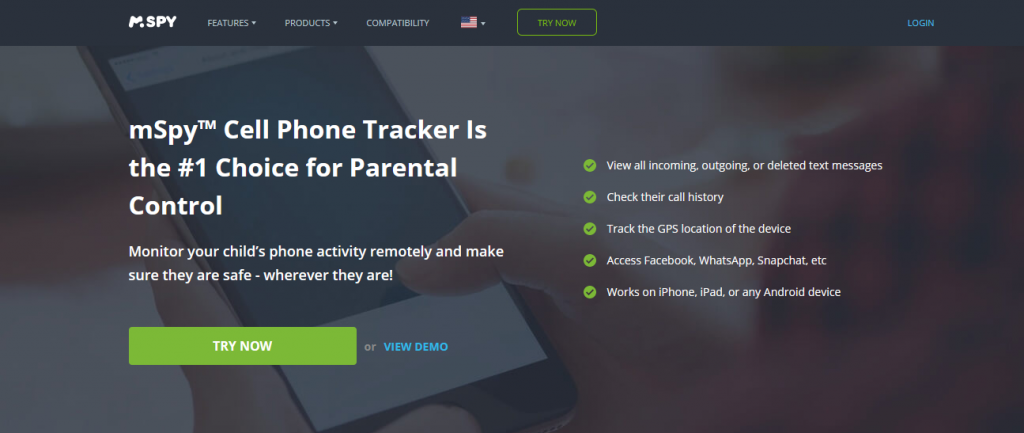 mSpy Phone tracker app without premission