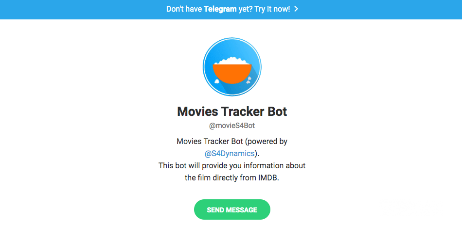 Movie Tracker bot